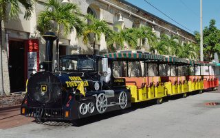 Conch Tour Train, a popular tourist attraction in Key West