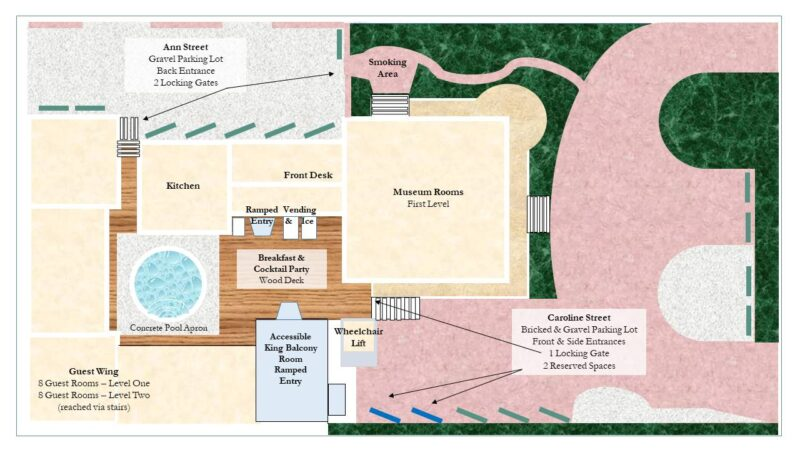 Curry Mansion property layout